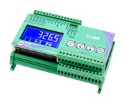 TLM8 Weight transmitter with 8 separate load cell inputs, serial port, analog output and fieldbus